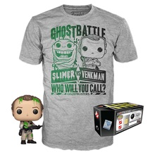 Funko POP! & Tee Ghostbusters: Venkman In Slime GameStop Exclusive Vinyl Figure & T-Shirt Set - Size: Small