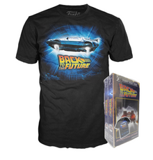Funko Apparel VHS: Back To The Future International Exclusive Boxed Tee - Size: Small