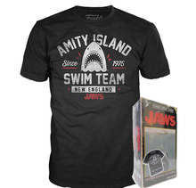 Funko Apparel VHS: Jaws International Exclusive Boxed Tee - Size: Small - Funko Closeout