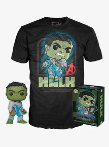 Funko POP! & Tee Marvel Avengers - Endgame: Hulk Hot Topic Exclusive Vinyl Figure & T-Shirt Set - Size: X-Small