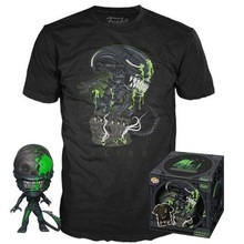 Funko POP! & Tee Movies: Alien (40th Anniversary) Target Exclusive Vinyl Figure & T-Shirt Set - Size: X-Small