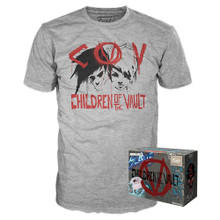 2019 E3 Funko Apparel Borderlands 3: Children Of The Vault GameStop Exclusive Boxed Tee - Size: Large - Funko Closeout