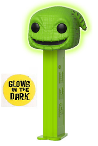 Funko POP! PEZ Disney The Nightmare Before Christmas: Glow In The Dark Oogie Boogie Dispenser w/ Candy
