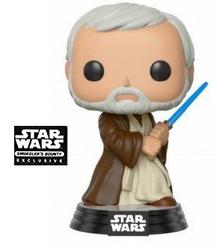 Funko POP! Star Wars: Cantina Ben Kenobi Smuggler's Bounty Exclusive Vinyl Figure - Damaged Box / Paint Flaw
