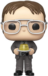 Funko POP! Television The Office: Dwight With Gelatin Stapler Vinyl Figure