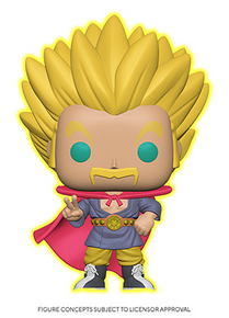 Funko POP! Animation Dragon Ball Super: Glow In The Dark Super Saiyan Hercule Vinyl Figure - Specialty Series - Pre-Order