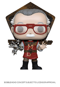 Funko POP! Icons: Stan Lee (Ragnarok) Vinyl Figure