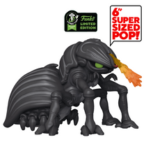 2020 ECCC Funko POP! Movies Starship Troopers: Tanker Bug 6 Inch Exclusive Vinyl Figure - ECCC Sticker