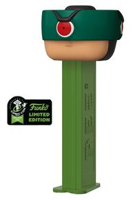 2020 ECCC Funko POP! PEZ Masters Of The Universe: Tri-Klops Dispenser w/ Candy - ECCC Sticker