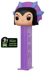 2020 ECCC Funko POP! PEZ Masters Of The Universe: Evil-Lyn Dispenser w/ Candy - ECCC Sticker