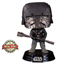 Funko POP! Star Wars Episode IX - The Rise Of Skywalker: Knight Of Ren (War Club) Special Edition Sticker Vinyl Figure - Limited Inventory!