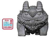 2017 NYCC Funko POP! Television Trollhunters: Aaarrrgghh! Exclusive Vinyl Figure - Fall Convention Sticker - Damaged Box / Paint Flaw