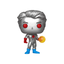 2020 WonderCon Funko POP! DC Comics Super Heroes: Captain Atom Exclusive Vinyl Figure - WonderCon Sticker