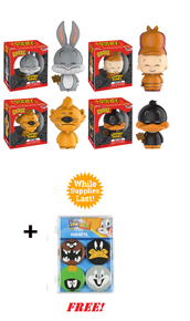 Funko Dorbz Animation: Looney Tunes 4pc Vinyl Figure Set + FREE Magnet Set