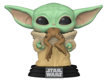 Funko POP! Star Wars The Mandalorian: The Child With Frog Vinyl Figure