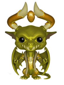 Funko POP! Games Magic The Gathering: Nicol Bolas 6 Inch Vinyl Figure - Damaged Box / Paint Flaw