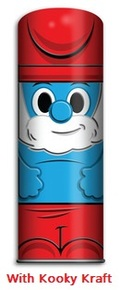 Funko Mixo™ Kooky Kan The Smurfs: Papa Smurf Collectible Tin With Kooky Kraft - Clearance