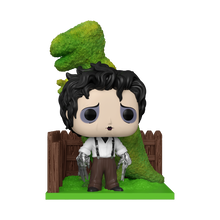 Funko POP! Deluxe Movies Edward Scissorhands: Edward With Dinosaur Shrub Vinyl Figure