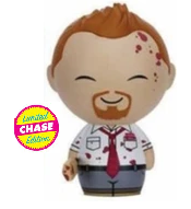 Funko Dorbz Horror Shaun Of The Dead: Shaun Vinyl Figure - Chase Variant - Damaged Box / Paint Flaw