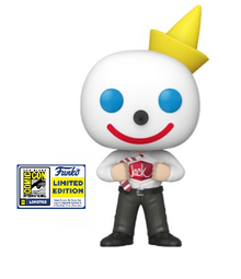 2020 SDCC Funko POP! Ad Icons Jack In The Box: Jack Box Exclusive Vinyl Figure - SDCC Sticker