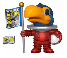 2020 SDCC Funko POP! Ad Icons: Red Astronaut Toucan Exclusive Vinyl Figure - LE 1000pcs - SDCC Sticker