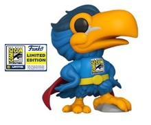 2020 SDCC Funko POP! Ad Icons:  Superhero Toucan Exclusive Vinyl Figure - SDCC Sticker
