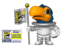2020 SDCC Funko POP! Ad Icons:  White Astronaut Toucan Exclusive Vinyl Figure - SDCC Sticker