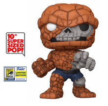 2020 SDCC Funko POP! Marvel Zombies: The Thing 10 Inch Exclusive Vinyl Figure - SDCC Sticker