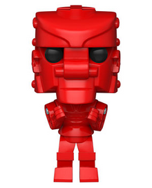 Funko POP! Retro Toys Mattel Rock 'Em Sock 'Em Robots: Red Rocker Vinyl Figure