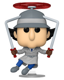 Funko POP! Animation Inspector Gadget: Inspector Gadget (Flying) Vinyl Figure