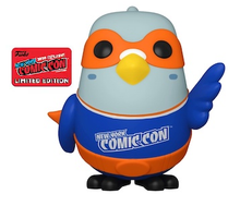 2020 NYCC Funko POP! Icons: Paulie Pigeon Exclusive Vinyl Figure - NYCC Sticker