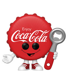 Funko POP! Foodies Coke: Coca-Cola Bottle Cap Vinyl Figure - Pre-Order