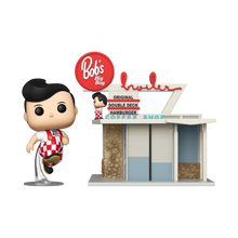 Funko POP! Towns Ad Icons: Bob's Big Boy Restaurant With Big Boy Vinyl Figure - Pre-Order