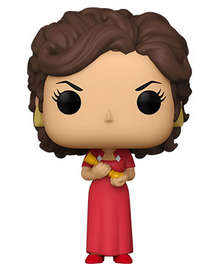 Funko POP! Retro Toys Clue: Miss Scarlet With Candlestick Vinyl Figure