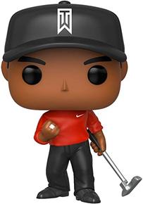 Funko POP! Sports Golf: Tiger Woods Red Shirt Vinyl Figure