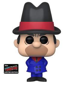 2019 NYCC Funko POP! Animation Hanna Barbera Wacky Races: Clyde Exclusive Vinyl Figure - NYCC Sticker - Damaged Box / Paint Flaw