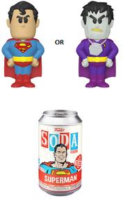 Funko Soda DC Comics: Superman Vinyl Figure - 1/6 Chase Variant