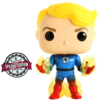 *Bulk* Funko POP! Marvel Fantastic Four: Human Torch Vinyl Figure - Special Edition - Case Of 6 Figures