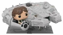 Funko POP! Star Wars Deluxe: Han Solo In The Millennium Falcon Vinyl Figure - Special Edition