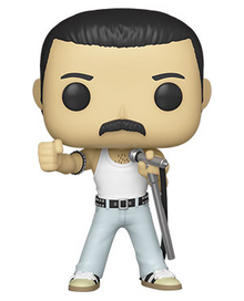 Funko POP! Rocks Queen: Freddie Mercury (Radio Gaga) Vinyl Figure