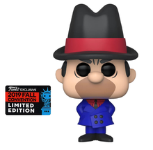 2019 NYCC Funko POP! Animation Hanna Barbera Wacky Races: Clyde Exclusive Vinyl Figure - Fall Convention Sticker