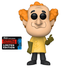 2019 NYCC Funko POP! Animation Hanna Barbera Wacky Races: Professor Pat Pending Exclusive Vinyl Figure - Fall Convention Sticker