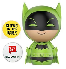 *Bulk*  Funko Dorbz DC Comics: Green Glow In The Dark Batman Walgreen's Exclusive Vinyl Figure  - Case Of 6 Figures