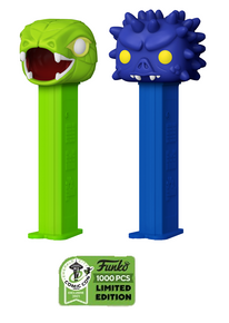 2021 ECCC Funko POP! PEZ Masters Of The Universe: Kobra Khan & Spikor 2pc Exclusive Dispenser w/ Candy Set - LE 1000pcs - ECCC Sticker
