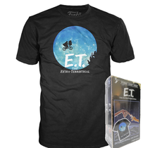 Funko Apparel VHS: E.T. - The Extra Terrestrial International Exclusive Boxed Tee - Size: Small - Only 9 Available