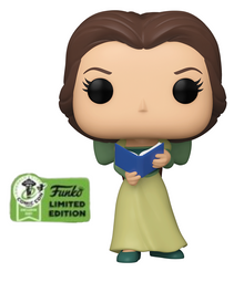 2021 ECCC Funko POP! Disney Beauty & The Beast: Belle Exclusive Vinyl Figure - ECCC Sticker
