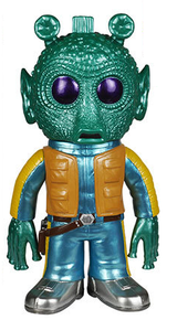 Funko Hikari Star Wars: Metallic Greedo Vinyl Figure - LE 2000pcs