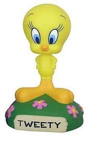 Funko Hanna Barbera Looney Tunes: Tweety Wacky Wobbler Bobblehead - Damaged Box / Paint Flaw