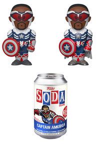 Funko Soda Marvel: Captain Falcon Vinyl Figure - 1/6 Chase Variant