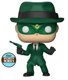 Funko POP! Television The Green Hornet (1960): The Green Hornet Vinyl Figure - Specialty Series - Damaged Box / Paint Flaw
